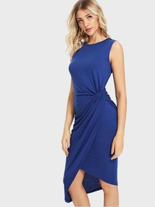 Elite Occasions Drap Wrap Side Dress