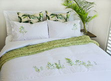 Bella Linen Botanicals duvet set