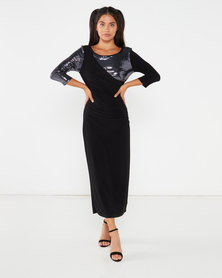 Hip Hop Naomi Dress Black