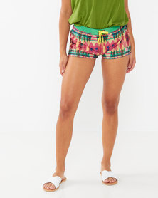 Lizzy Patsy  Short Boardshorts Green Multi