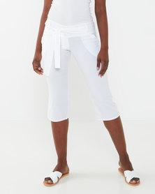 Lizzy Melusi Ladies Walkshorts White