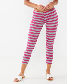 Lizzy Nevelyn Ladies Leggings Pink