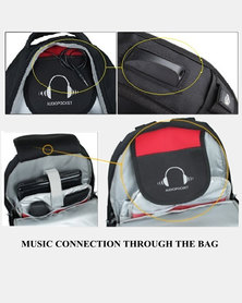 Charmza Laptop Bag - Grey & Black (CZ-98601)