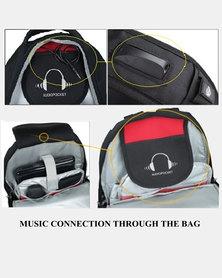 Charmza Laptop Bag - Red & Black (CZ-98601)