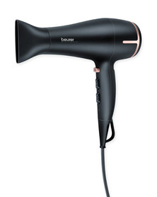 Beurer Hair Dryer HC 60 Eco Technology Black & Rose Gold