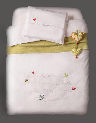 Bella Baby Linen Cot Set