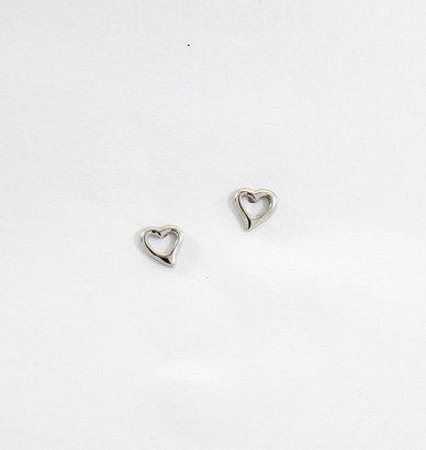 Ruby Raven Jewellery Heart Studs