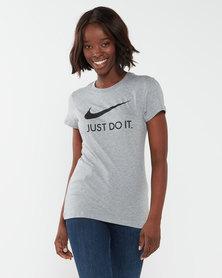 Nike W NSW Tee JDI Slim Grey