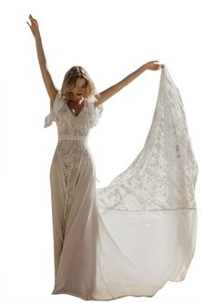 Princess Lola Boutique - It's A Love Story Bridal Lace Gown