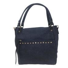 Amore  Studded Handbag Navy Blue