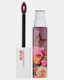 Maybelline Superstay Matte Ink Liquid Lipstick Ashley Longshore Collection 95 Visionnary