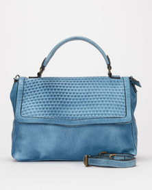 Queue Flap Over Bag Blue