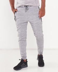 Born Rich Grey Redknapp Knit Jogger
