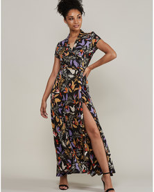 MARETH & COLLEEN Philly Wrap Dress Print