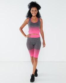 Yarin Amram Active-Wear Short Set pink