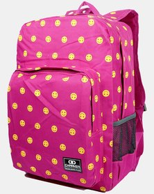 Emoji School Bag 20 Liter - Pink