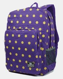 Emoji School Bag 20 Liter - Purple