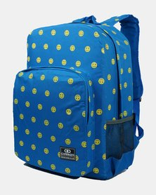Emoji School Bag 20 Liter - Royal Blue