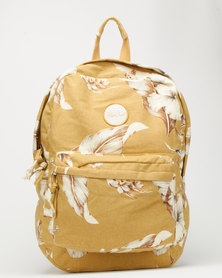 Rip Curl Island Time Backpack Yellow