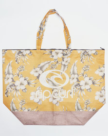 Rip Curl Island Time Beach Bag Yellow