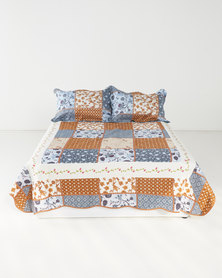 Big Girl Bedding Brown and Blue