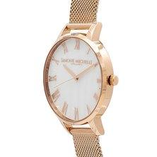 Magnolia - Luxury Bohemian Watch, Rose Gold, Mesh Rose Gold Strap