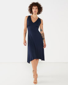 Nucleus Slone Dress in Navy