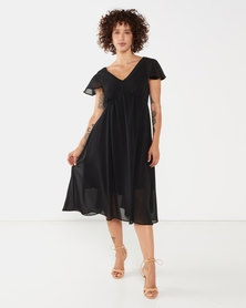 Nucleus Midlands Dress in Black