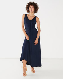 Nucleus Everyday Maxi Dress in Navy