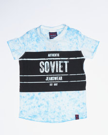 Soviet Bridgford LT Boys Short Sleeve Fashion Tee Blue