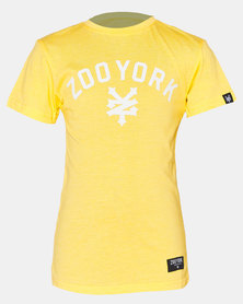 Zoo York Boys Tee Yellow