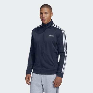 ESSENTIALS 3STRIPE TRACK TOP
