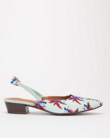 SOA Kaiza Sling Back Sandals Mint