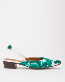 SOA Kaiza Sling Back Sandals Green