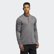 OWN THE RUN HALF-ZIP TEE