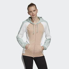 HOODED TRACK TOP