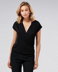 Joan Wrap Basic Black