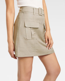 Sadie Utility Mini Skirt