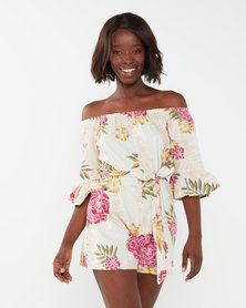 Billabong Fun For Now Playsuit Multi