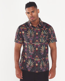 Billabong Sundays Floral Shirt Black