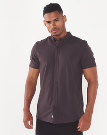 Element Icon Crisp Short Sleeve Off Black