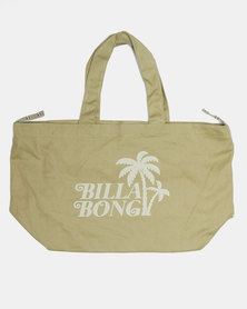 Billabong Sunrays Beach Bag Green