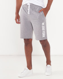 Zoo York ZY Fleece Shorts Grey