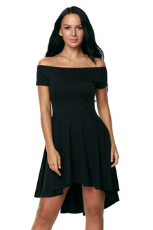 Neeva Skater Dress - Black