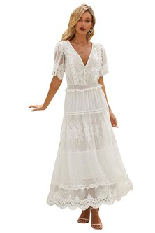Princess Lola Boutique - Days Like These Sheer Lace Gown