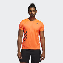 RUN IT 3-STRIPES PB TEE