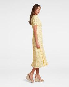 Fern Frill Hem Midi Dress