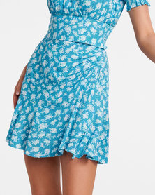 Tara Elasticated Flippy Skirt
