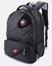 Charmza Alpha Laptop Backpack - Black
