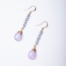 Budapest Natural Stone Drop Earrings